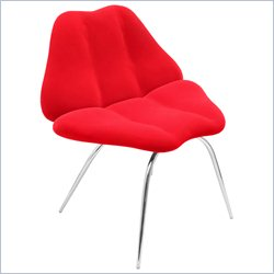 Lumisource Smooch Chair in Red