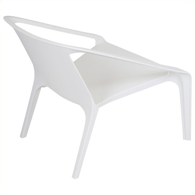 Lumisource Transitions Chair in White