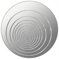 Lumisource Ripples Round Mirror