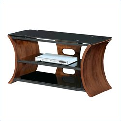 Lumisource Metro Series 168 TV Stand in Walnut Veneer