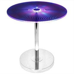 Lumisource Spyra Side Table in Multicolor