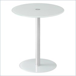 Lumisource Spool Table in White