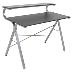 Lumisource Wave Desk in Silver