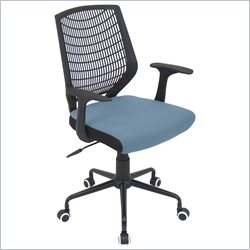 Lumisource Network Office Chair in Black and Blue