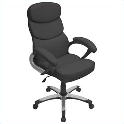 Lumisource Doctorate Office Chair in Black