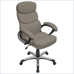 Lumisource Doctorate Office Chair in Stone