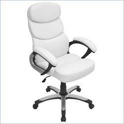 Lumisource Doctorate Office Chair in White