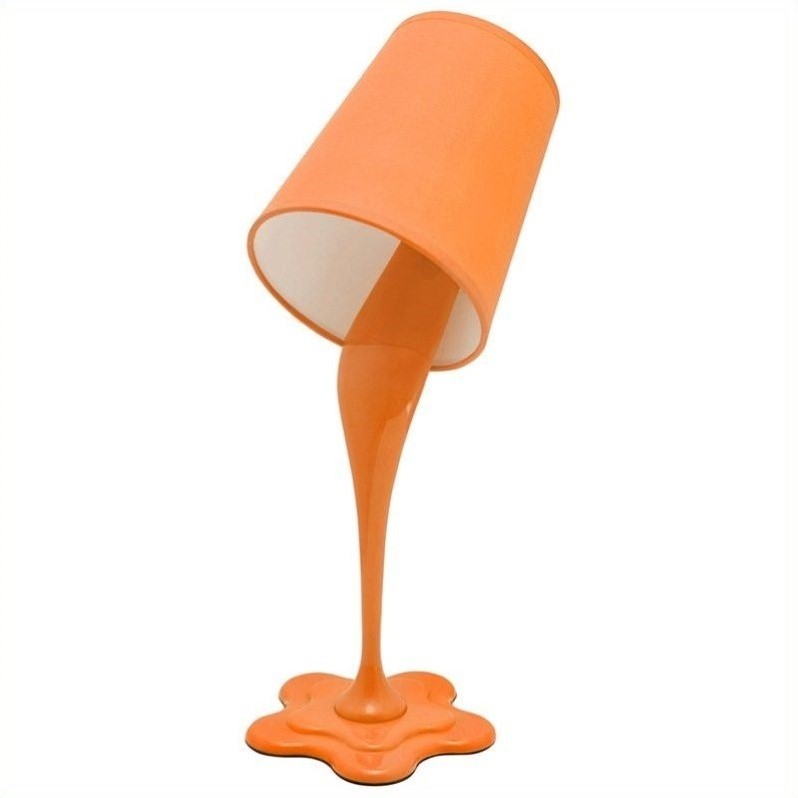 Lumisource Woopsy Lamp In Orange Ls L Woopsy O