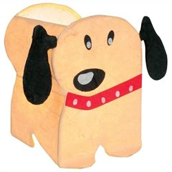 Lumisource Petey the Puppy Night Time Pals Lamp in Tan