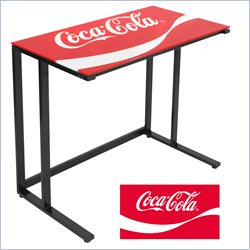 Lumisource Coca Cola Kappa Office Desk in Red and Black