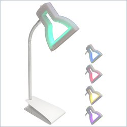Lumisource 2D LED Lamp Table Lamp in Multicolor