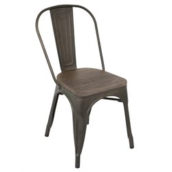 Lumisource Oregon Dining Chair in Wood