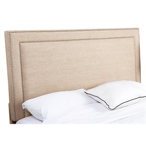 Abbyson Living Tamey Upholstered King California King Panel Headboard
