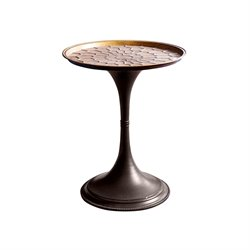 Abbyson Living Zachary End Table in Brown