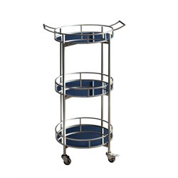 Blake 3 Tier Cylinder Bar Cart