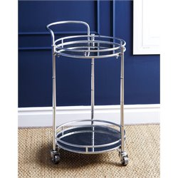 Blake 2 Tier Cylinder Bar Cart