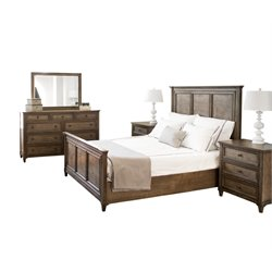 Abbyson Living Westley 5 Piece Panel Bedroom Set-G6