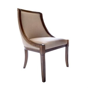 Abbyson Living Harper Dining Chair in Brown