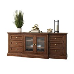 Abbyson Living Harper Sideboard in Acacia Brown