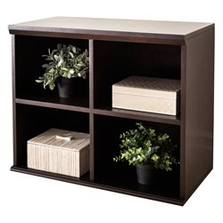 Abbyson Living Nadia Bookcase in Esprsso