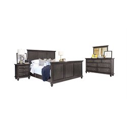 Abbyson Living Breckenridge 5 Piece Panel Bedroom Set-I