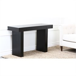 Abbyson Living Karla-Lee Compact Computer Desk in Espresso
