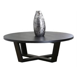 Abbyson Living Samila Wood Table in Espresso