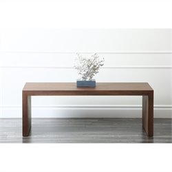 Abbyson Living Quincy Wood Coffee Table in Oak