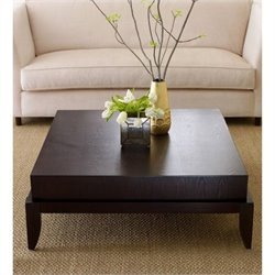 Abbyson Living Maytime Wood Table in Rich Caramel Finish