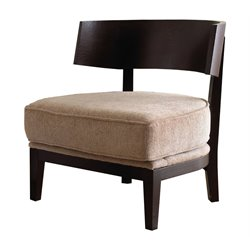 Abbyson Living Cazlee Wood Chair in Rich Caramel Finish