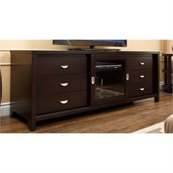 Abbyson Living Kingsley 72-inch TV Console in Espresso