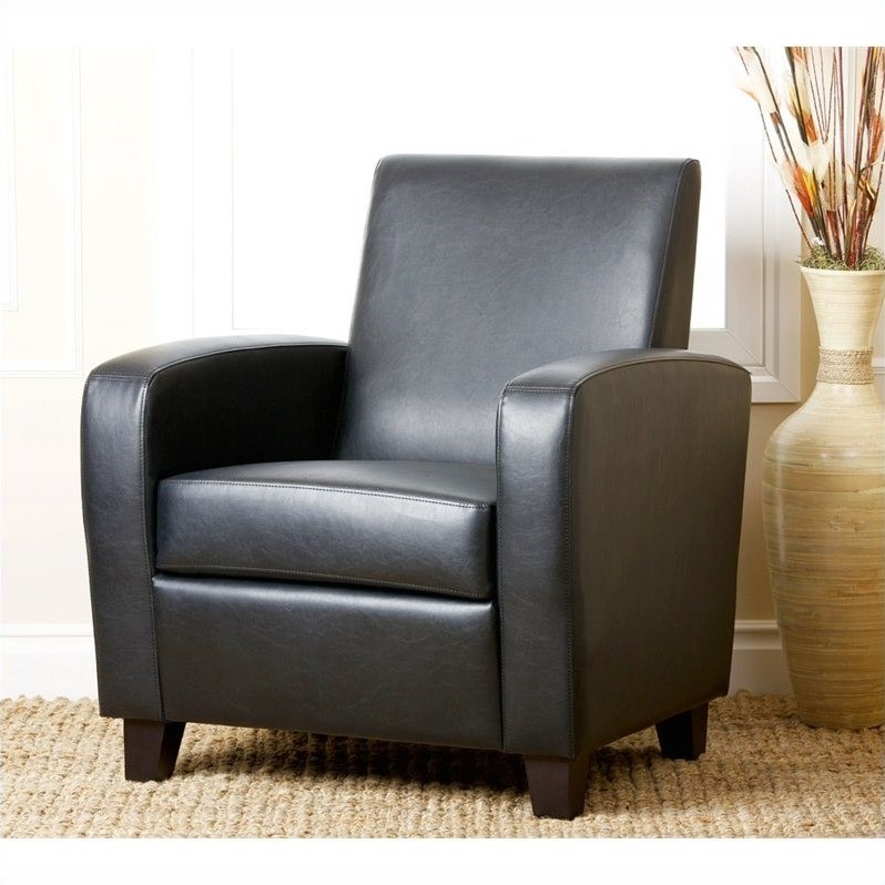 Black leather club chairs cheap x jpg mercer black for Cheap leather chairs