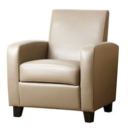 Capella Leather Club Chair