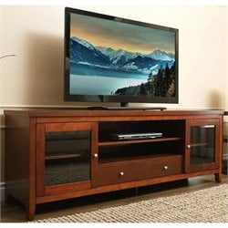 Abbyson Living Manhattan TV Console in Walnut