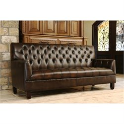 Abbyson Living Revello Sofa in Brown