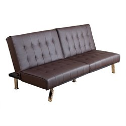 Caldwell Leather Convertible Sofa
