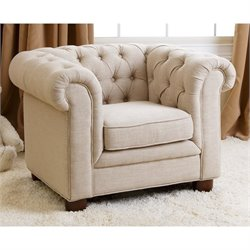 Abbyson Living RJ Kids Mini Chesterfield Chair