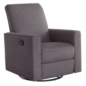Abbyson Living Hampton Nursery Swivel Glider Recliner Chair
