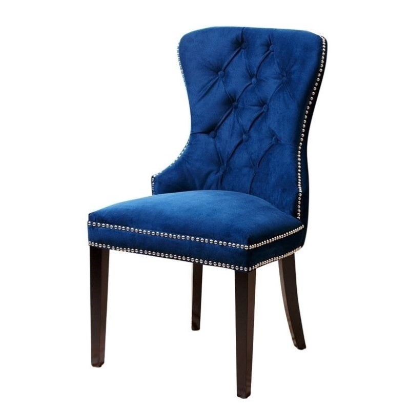 Abbyson Living Miiko Dining Chair in Navy Blue BR DC  : 650355 1 L from www.cymax.com size 798 x 798 jpeg 56kB