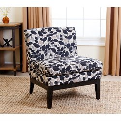 Abbyson Living Matisse Accent Chair in Floral