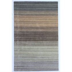 Abbyson Living Payton 3' x 5' New Zealand Wool Rug in Tan and Gray