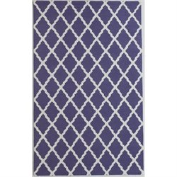 Abbyson Living Bosh 8' x 10' New Zealand Wool Rug in Lavender