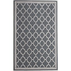 Abbyson Living 8' x 10' New Zealand Wool Rug in Slate Gray