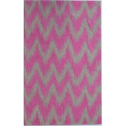 Abbyson Living 8' x 10' New Zealand Wool Rug in Pink