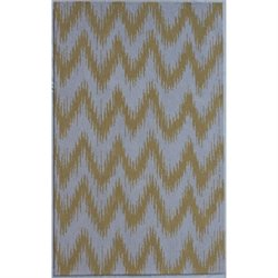 Abbyson Living 8' x 10' New Zealand Wool Rug in Dijon Yellow
