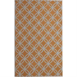 Abbyson Living 8' x 10' New Zealand Wool Rug in Mustard Yellow