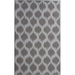 Abbyson Living 8' x 10' New Zealand Wool Rug in Wheat Brown
