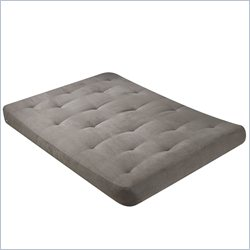 Wolf USF-4 8 Inch Futon Mattress in Cedar Green Micro Fiber - Full