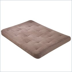Wolf USF-8110 8 Inch Futon Mattress in Buff Micro Fiber - Full