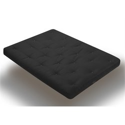 Wolf Serta Liberty Futon Mattress in Black - Full Size